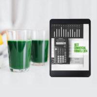 best formula for commercial spirulina cultivation