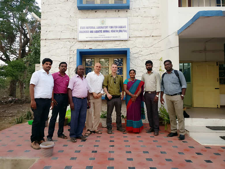 Exploring Business Opportunities in India with Spirulina Network From left to right: Mr KE Harish, Mr Robert Shibin, Dr. Manikandavelo, Dov Ley Ary, Natan Gammer, Dr. Uma and her assistants.