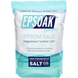 Epsoak Epsom salt for spirulina cultivation
