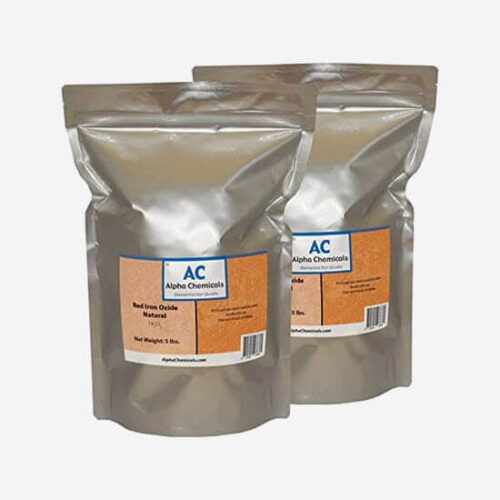 red iron oxide for spirulina cultivation