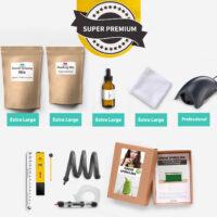 Super premium home grown spirulina kit