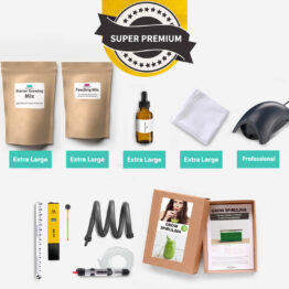 Super premium home grown spirulina kit
