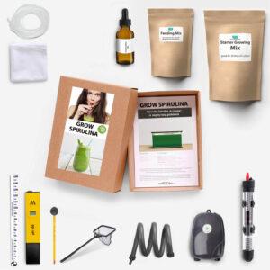 Basic home grown spirulina kit