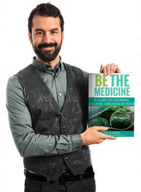 how to grow spirulina at home be the medicine growers guidebook DIY spirulina cultivation