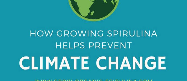 How Growing Spirulina Helps to Prevent Climate Change- Inforgraphic